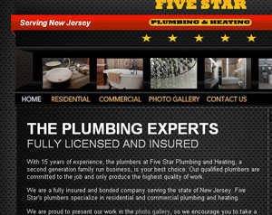 Five Star Plumbing Heating